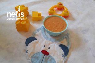 Bebeklere Sağlıklı Kabak Çorbası ( 8 Ay) Tarifi