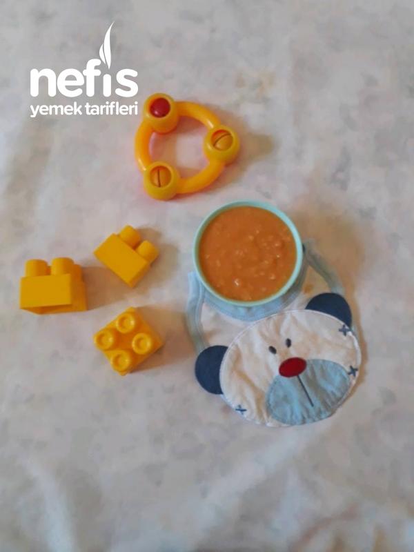 Bebeklere Sağlıklı Kabak Çorbası(+8 Ay)