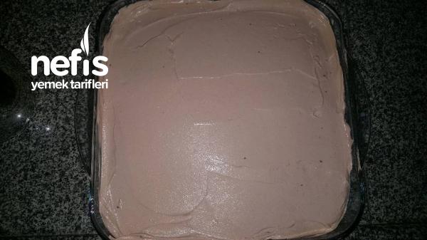Çocukların Gözdesi Nutellalı Pasta (Tam Ölçülü)