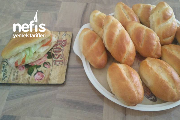 Ev Yapımı Sandviç Ekmeği Tarifi