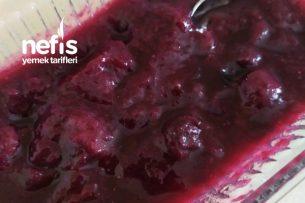 Şekersiz Yaban Mersini Reçeli ( 9 Ay) Tarifi