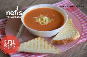 Sütlü Domates Çorbası (Videolu) Tarifi