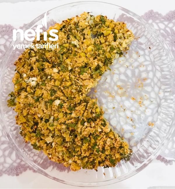 Patatesli Yeşillikli Fit Börek (Unsuz)