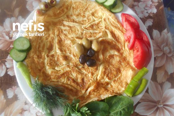 Kaşar Peynirli Omlet Tarifi