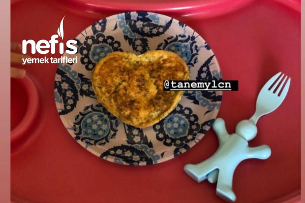 Bebek Omleti Bebek Kahvaltısı Tarhanalı Omlet Tarifi