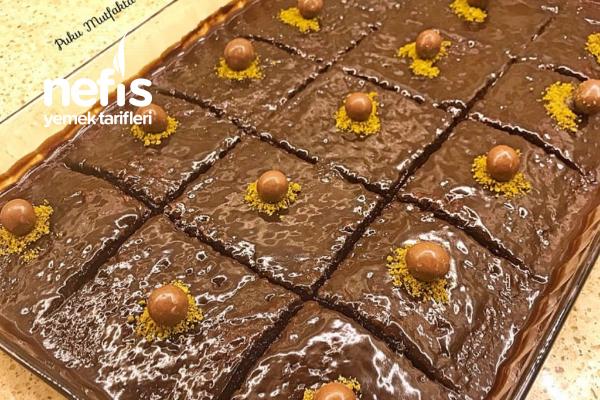 Çikolata Soslu Islak Kek Tarifi