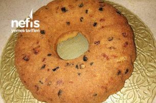 İncirli, Üzümlü, Cevizli, Tarçınlı Damla Çikolatalı Atom Kek (Buzlukta Saklanır) Tarifi