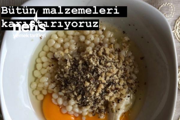 Kuskus Makarnalı Omlet / Bebek Kahvaltısı / Bebek Omleti