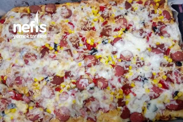 Şahane Pizza Tarifi