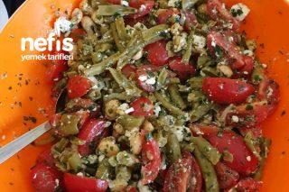Yer Fıstıklı Fasülye Salatası Tarifi