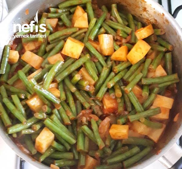 Yeşil Fasulye Yemeği (Hollanda Fasulyesi)