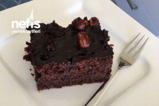 Brownie Tadında Pufidik Islak Kek Tarifi