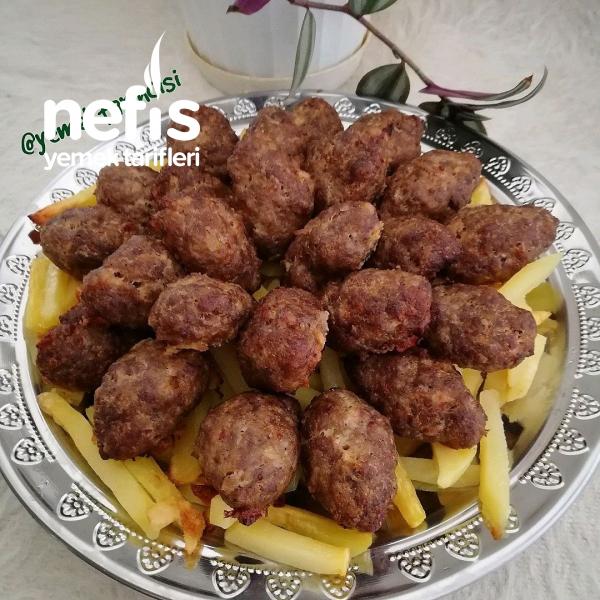 Fırında Kuru Köfte&patates