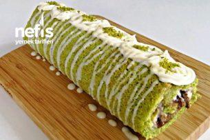Kırılmayan Ispanaklı Rulo Pasta (Videolu) Tarifi