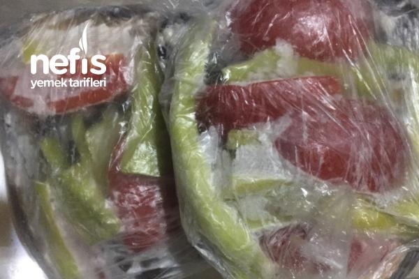 Kışlık İçin Kızartılmış Karnıyalık Patlıcan (videolu) Tarifi