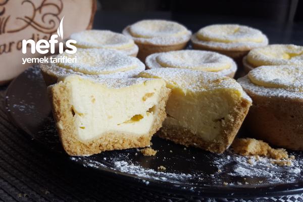 Mini Labneli Tart´s / Cheesecake Muffins Tarifi ( Videolu)