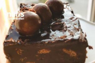 Az Malzemeli Sadece 10 Dakika Pişmeyen Bol Çikolatalı Pasta Bar Tarifi