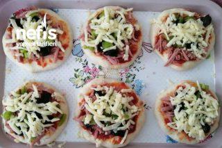 Buzlukta Mini Pizza Tarifi