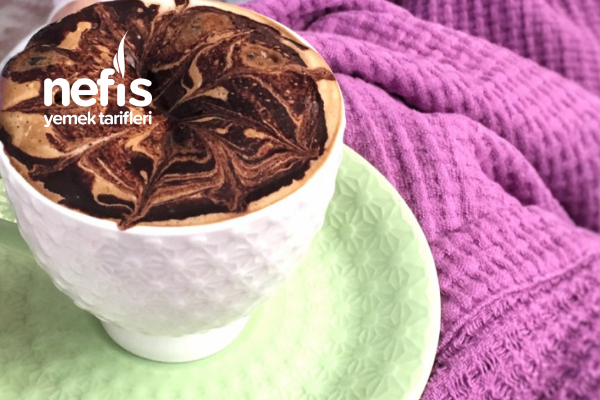 Çikolata Soslu Sıcak Kahve