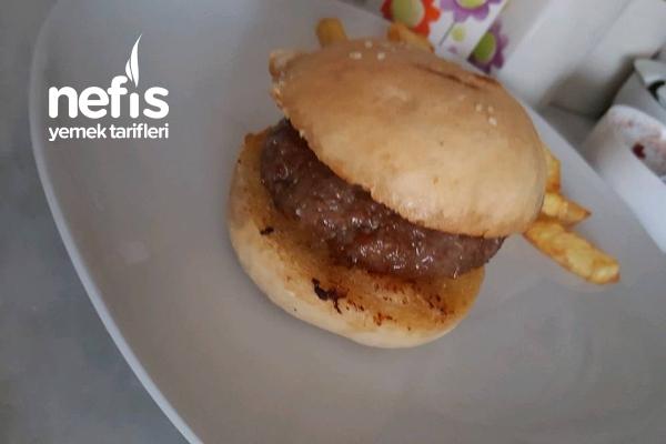 Evde Sağlıklı Hamburger Tarifi