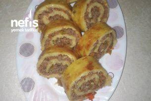 Kıymalı Rulo Patates Tarifi