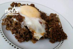 Kıymalı Yumurtalı Pratik Yemek Tarifi