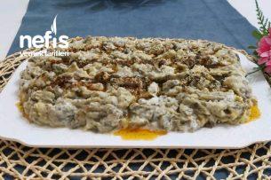 Nefis  Yoğurtlu Patlıcan  Salatası Tarifi