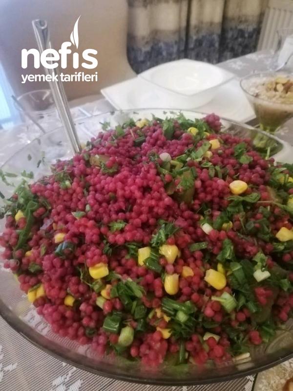 Şalgamlı Kuskus Salatası (Herkes Bayıldı Deneyin!)