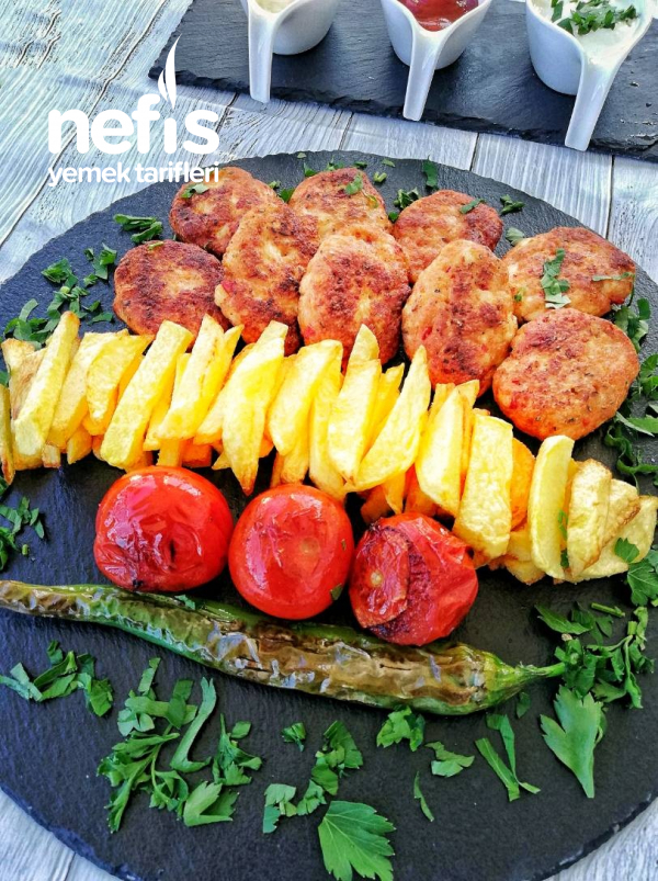 Tavuk Köfte (Mercan Kebabi)