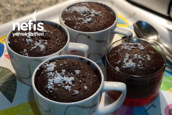 Az Malzemeli Bol Akışkanlı Cafelerdeki İle Birebir Sufle Tarifi