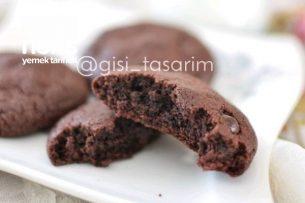 Çikolatalı Kurabiye (Browni Tadında) Tarifi
