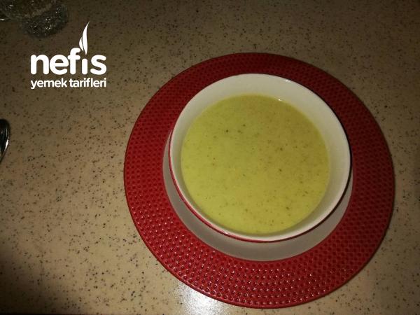 Kabak Çorbası Süt Veya Yoğurt İle