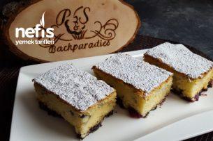 Kirazlı Damla Çikolatalı Kek  Nefis Tarifler  (Videolu) Tarifi