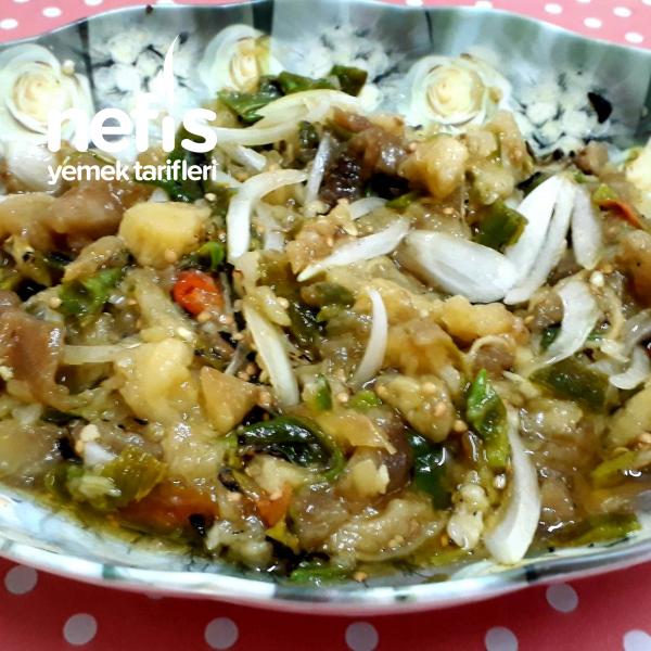 Köz Biber Ve Patlıcan Salatası