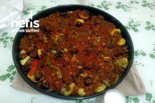 Patates-Biber-Patlıcan Musakka Tarifi