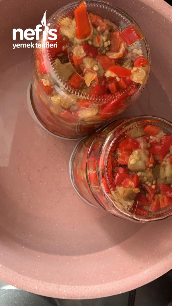 Patlıcan Salatası Konservesi