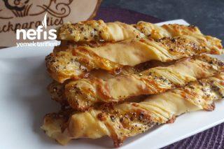 Peynirli Çıtır Çubuklar Fingerfood  Partysnacks ( Videolu)