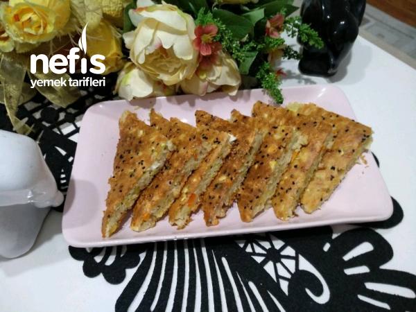 Sebzeli Kolay Börek(yufkasız, Yoğurmadan)