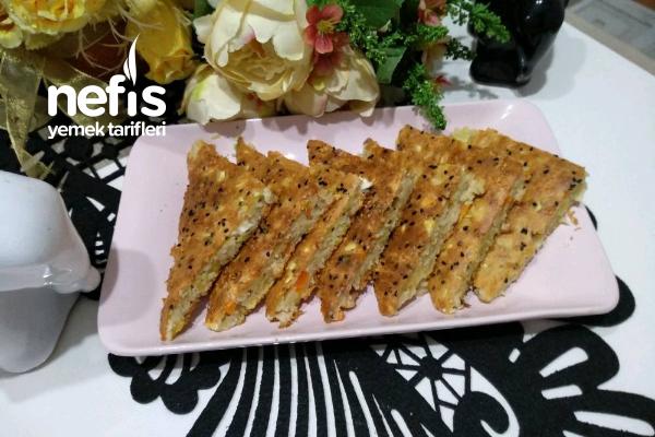 Sebzeli Kolay Börek (Yufkasız, Yoğurmadan) Tarifi