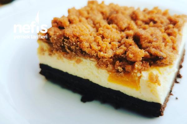 Şeftalili Kırıntı Pasta Tarifi