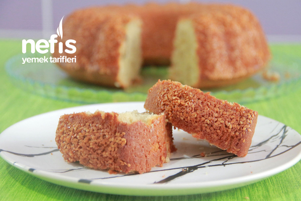 Tahinli Susamlı Kek (Videolu) Tarifi
