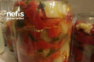 Yağlı Sirkeli Patlıcan