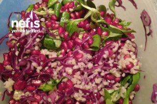Bulgurlu Salata (Diyette Olanlara Öğlen İçin) Tarifi