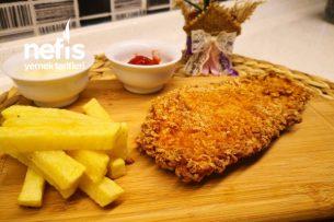 Çıtır Çıtır Lezzet Tavuk Şinitzel (Videolu) Tarifi
