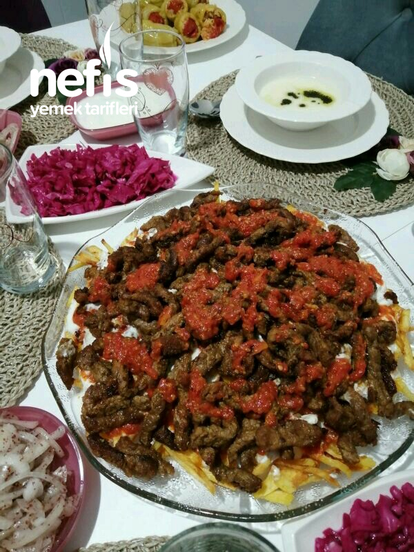 Çökertme Kebabı