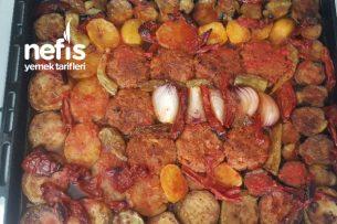 Fırında Sebzeli Türlü Yemeği Tarifi