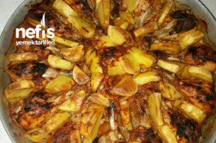 Fırında Tavuk Baget (Izgara Tadında) Tarifi