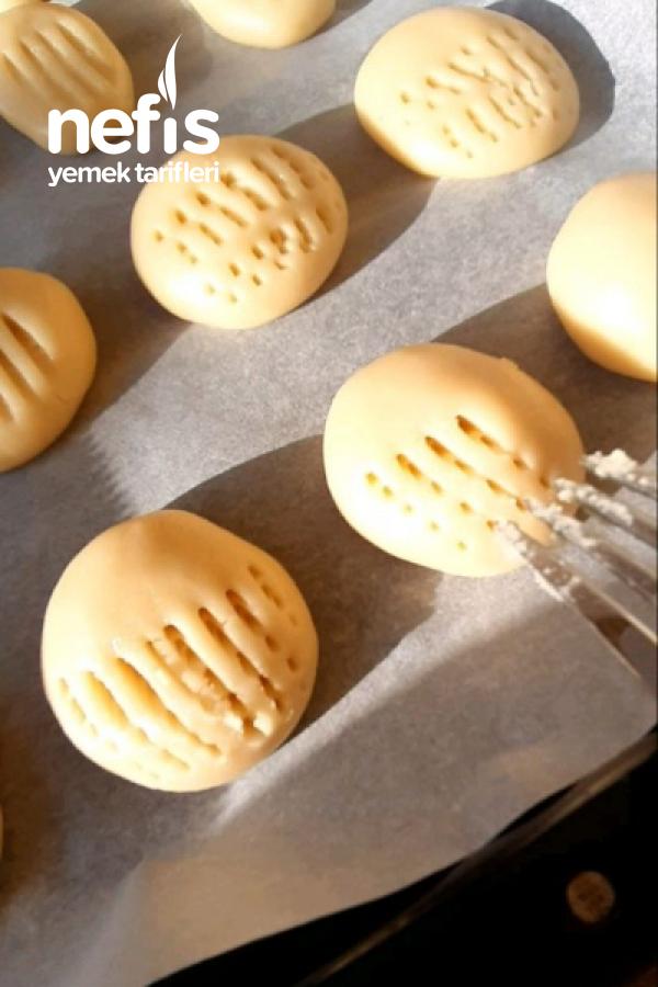 Margarinsiz Tereyağsız Nefis Ağızda Dağılan Kurabiye