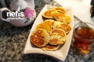 10 Dakikada Kahvaltılık Kaşık Krep Tarifi