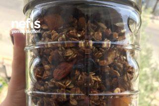 Elmalı Tarçınlı Granola Tarifi
